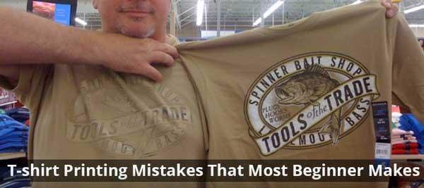 T-Shirt Printing Mistakes