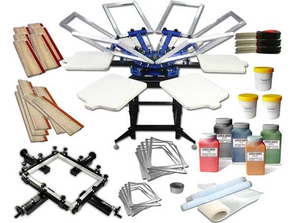 T-shirt Printing Materials Checklist