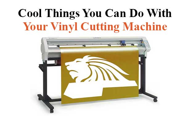 Vinyl Cutting Machine