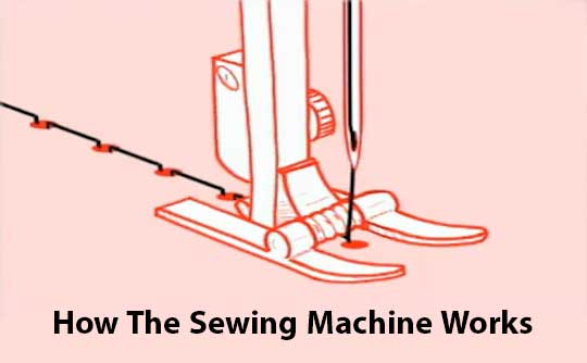 How The Sewing Machine Works