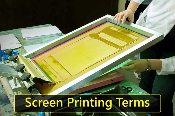 Screen Printing Terms