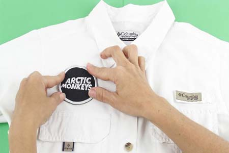 How to Attach Patches on Clothes