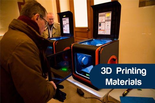 3D Printing Material list