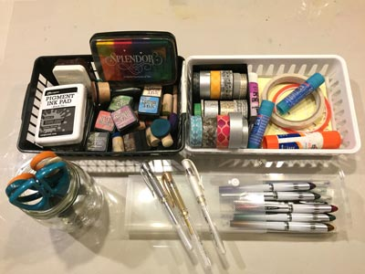 How To Use Distress Ink Tools