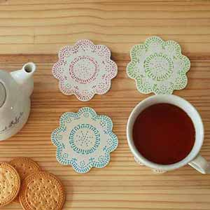 Cozy Coasters For Teacups