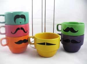 A Pretend Mustache Never Fails To Impress