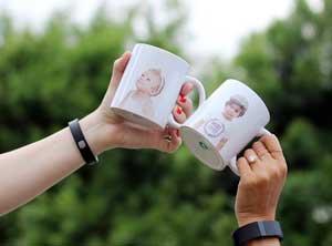 Photo Printed Mugs On The Go