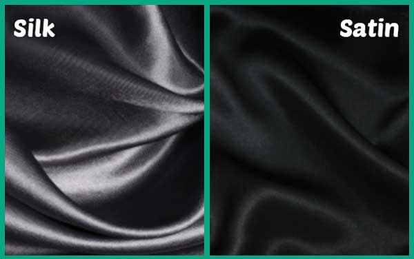 Difference Between Silk And Satin Fabric