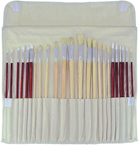Art Advantage 15 3//4-Inch by 15 3//4-Inch with Pockets Brush Rollup