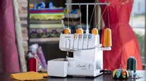 A Brief Introduction To Serger Machines