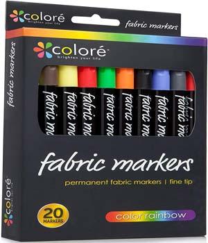 Colore Premium Fabric Markers