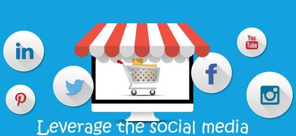 Leverage the social media