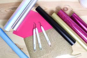 Materials That We Need To Cut Heat Transfer Vinyl