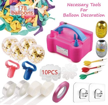 Necessary Tools For Balloon Decoration