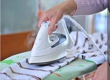 Shrinking Polyester Using Iron