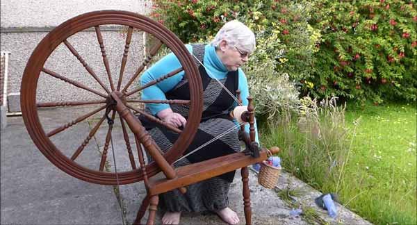 Spinning Wheel types