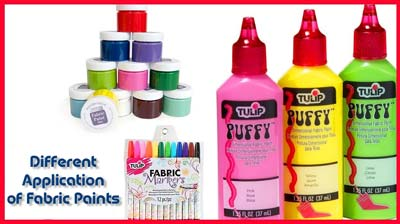 Types of Fabric Paints