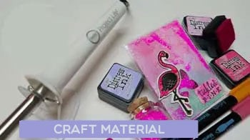 Used In Distress Ink DIY Projects