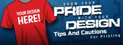 Tips And Cautions For T-Shirt Printing