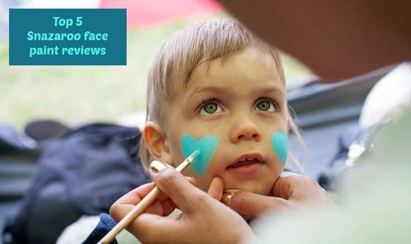 Snazaroo face paint reviews