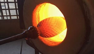 Glass Blowing glory hole