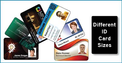Different ID Card Sizes