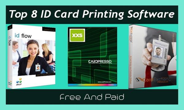 ID Card Printing Software