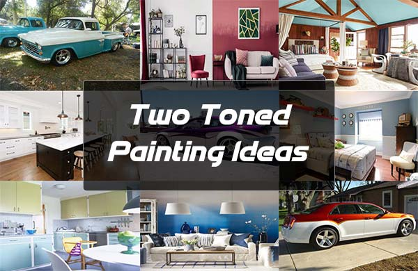 Two Toned Painting Ideas